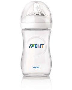 Butelka do karmienia imitująca pierś Philips Avent Natural 260ml + pokrywka uszczelniająca  - zdjęcie 1