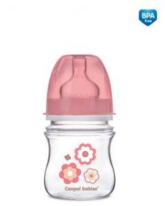 Butelka antykolkowa Canpol 120ml 0+ różne kolory