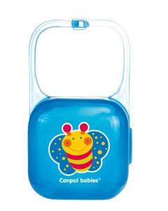 Pojemnik na smoczek Canpol niebieski - zdjęcie 1