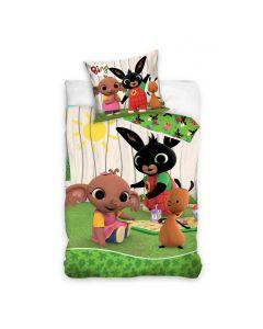 Pościel dziecięca królik BING bawełniana 160x200 Nickelodeon - zdjecie 1