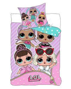 LOL Pościel dziewczęca L.O.L. Surprise bawełniana 140x200 Nickelodeon - zdjęcie 1