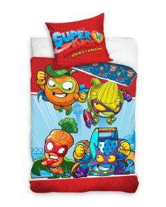 Pościel dziecięca Super Zings bawełniana 160x200 - zdjęcie 1