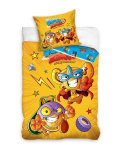 Pościel dziecięca Super Zings bawełniana 140x200 - zdjęcie 1