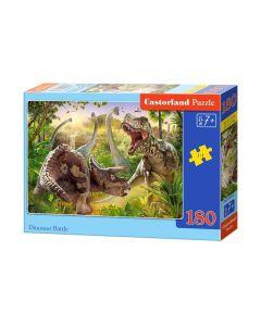 Puzzle dla dzieci od 7 lat dinozaury Castorland 180 el. - zdjęcie 1