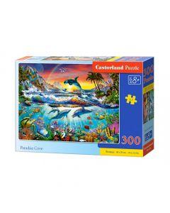 Puzzle Rafa Koralowa i delfiny Castorland 300 el. - zdjęcie nr 1