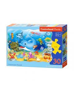 Duże puzzle podwodni przyjaciele Castorland 30 el. - zdjęcie nr 1