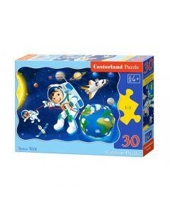 Duże puzzle podróż w Kosmos Castorland 30 el. - zdjęcie nr 1
