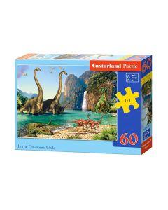 Puzzle z dinozaurami dla dzieci od 5 lat Castorland B-06922-1 - zdjęcie 1