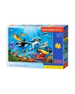 Puzzle podwodny świat Castorland 200 el. - zdjęcie 1