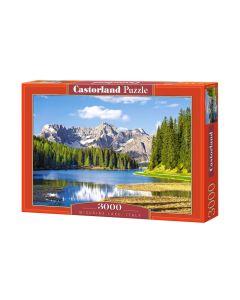 Puzzle Włochy 3000 góry i jezioro Castorland - zdjęcie 1