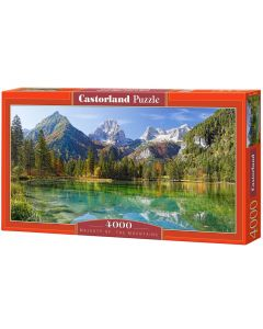 Puzzle piękne jezioro w górach Castorland 4000 elementów - zdjęcie 1