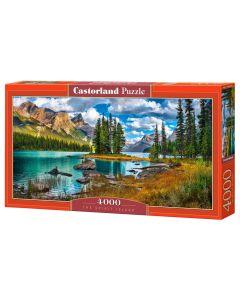 Puzzle piękne jezioro wiosna Castorland 4000 elementów - zdjęcie 1