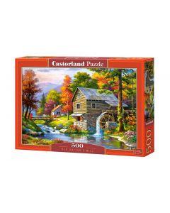 Puzzle domek nad rzeką Castorland 500 el. - zdjęcie 1
