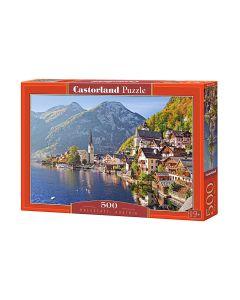 Puzzle Austra góry i miasto Castorland 500 el. - zdjęcie 1