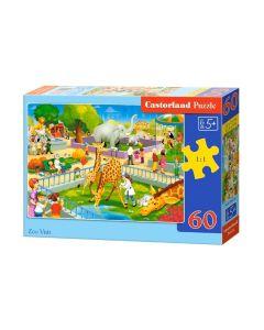 Puzzle dla dzieci Castorland zwierzęta z zoo - zdjęcie 1