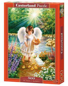 Puzzle dla dzieci Anioł w świetle w ogrodzie Castorland 500 el. - zdjęcie 1