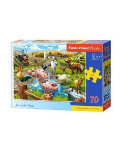 Puzzle farma zwierzęta duże elementy 70 Castorland - zdjęcie 1