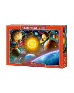 Puzzle kosmos układ słoneczny Castorland 500 el. - zdjecie 1