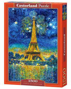 Puzzle 1500 el. Święto Paryża marki Castorland - zdjęcie nr 1