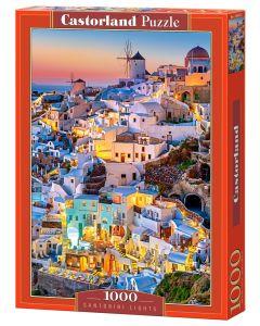 Puzzle Grecja miasto Santorini Castorland 1000 el. - zdjęcie 1