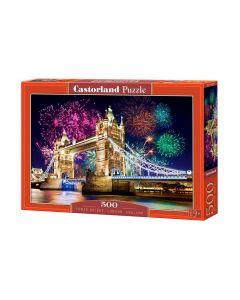Puzzle most w Pradze Castorland 500 el. - zdjęcie 1