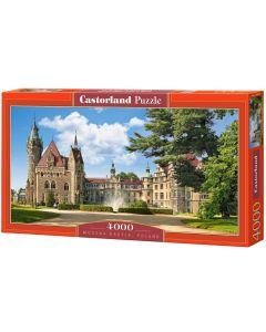 Puzzle Zamek w Mosznie Moszna Castorland 4000 elementów - zdjecie 1