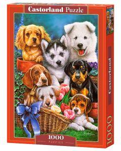 Puzzle psy i pieski Castorland 1000 el. - zdjęcie 1