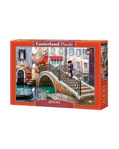 Puzzle Most Wenecki Wenecja - piękne Castorland 2000 el. - zdjęcie 1