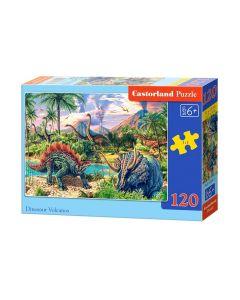 Puzzle dla 6 latka dinozaury Castorland - zdjęcie 1