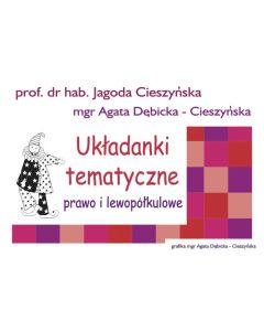 Układanki i ćwiczenia prawo i lewopółkulowe Cieszyńska - zdjęcie 1