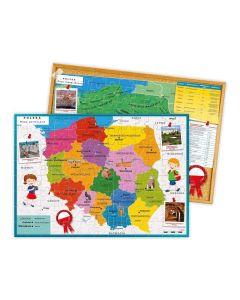 Mapa Polski Clementoni odkrywamy Polskę