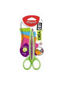 Nożyczki dla dzieci do wzorków Maped 13 cm różowe