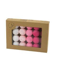 Cotton Balls w pokoju niemowlaka - świecące kule - zdjęcie 1