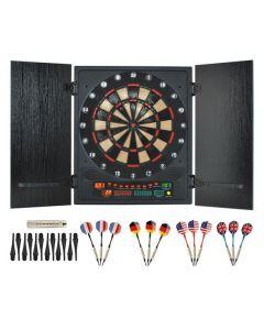 Profesjonalna elektroniczna tarcza dart + rzutki - zdjecie 1