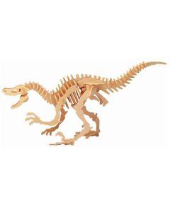Dinozaur Velocilaptor puzzle drewniane 3D - zdjęcie 1