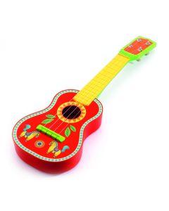 Drewniana gitara dla dzieci Ukulele Animamba Djeco - zdjęcie 1