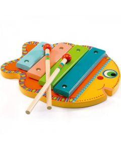 Ksylofon drewniany dla dzieci - cymbałki Animambo Djeco - zdjęcie 1
