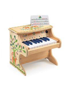 Pianinko pianino drewniane fortepian dla dzieci Animambo Djeco - zdjęcie 1