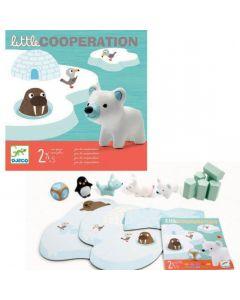 Gra zwierzaki na Arktyce Djeco Little Cooperation - zdjęcie 1