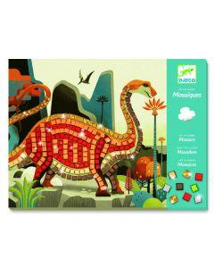 Mozaika do wyklejania - zestaw kreatywny Djeco Dinozaury - zdjęcie 1