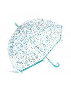 Djeco: przeźroczysta parasolka - parasol dla dzieci Jednorożce - zdjęcie 1