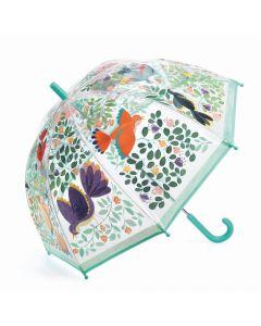 Parasol przeciwdeszczowy Djeco - parasolka dla dzieci Kwiaty i ptaszki - zdjęcie 1
