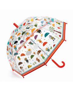 Parasolka przeciwdeszczowa przeźroczysta Djeco W Deszczu - zdjęcie 1