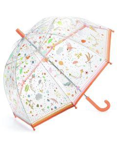 Parasolka przeciwdeszczowa przeźroczysta Djeco Wiosna - zdjęcie nr 1