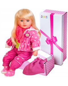 Lalka interaktywna Doris mówiąca i śpiewająca 60 cm - zdjęcie 1