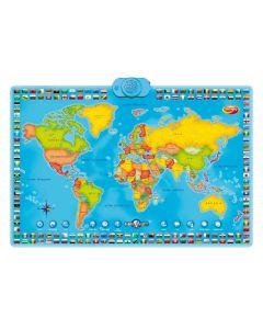 Interaktywna mapa świata Dumel