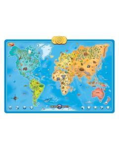 Interaktywna Mapa Świata Zwierzęta Dumel Discovery - zdjęcie 1