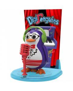 DigiPenguin ze sceną Dumel Discovery, tańczy i śpiewa