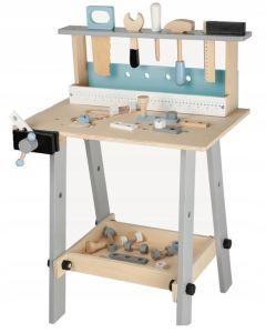 Warsztat drewniany z zestawem narzędzi - Zdjęcie 1