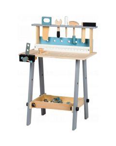 Drewniany warsztat narzędzia Ecotoys 32 el. - zdjęcie nr 1